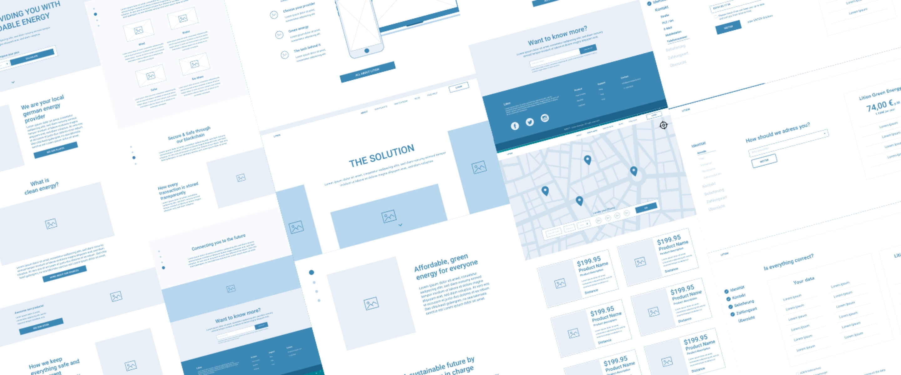 lition-wireframes
